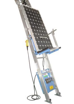 elevador paneles solares